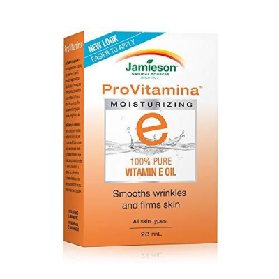 Jamieson ProVitamina E 100% Pure Vitamin E Oil, 28mL