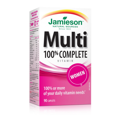 Jamieson 100% Complete Multi for Women  90 caplets