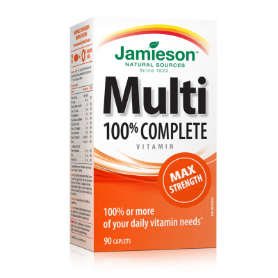 Jamieson 100% Complete Multi Max Strength 90 caplets