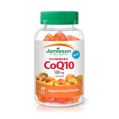 Jamieson CoQ10 100mg , 60 Gummies