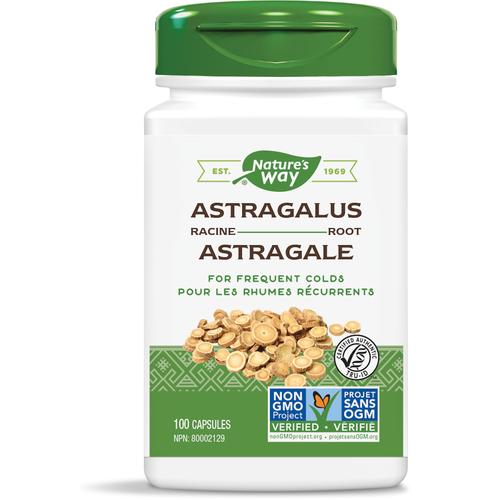 Nature's Way Astragalus Root, 100 Vcaps