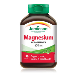 Jamieson Magnesium Ultra Strength 250 mg 90 caplets
