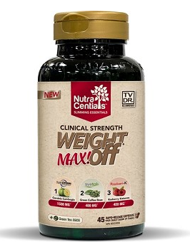 Nuvocare Weight OFF Max, 45 veg capsules