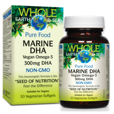 NF Whole Earth and Sea Pure Food Marine DHA 300 mg, 30's
