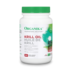 Organika Krill Oil, 500 mg, 90 softgels