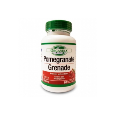 【clearance】Organika Pomegranate, 60 Vegetarian Capsules, 225mg  EXP:2021/07