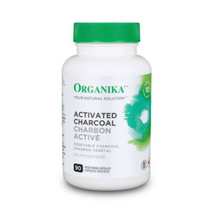 Organika Activated Chacoal, 90 vcaps