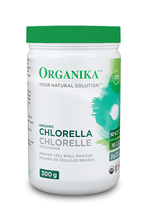 Organika Chlorella powder, 300g