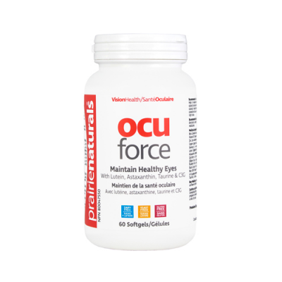 Prairie Naturals Ocu-Force w/ Lutein, 60 softgels