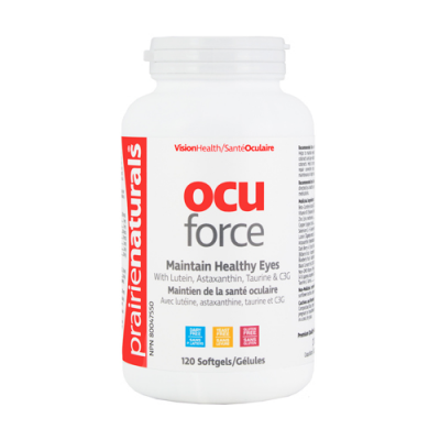 Prairie Naturals Ocu-Force w/ Lutein, 120 softgels
