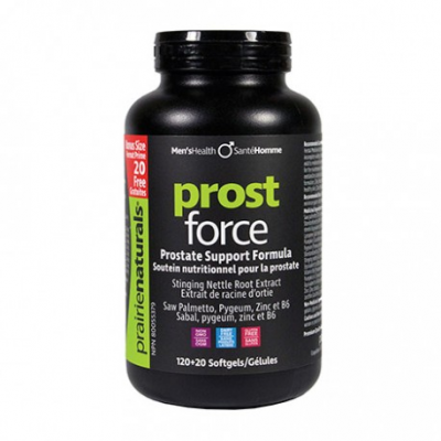 Prairie Naturals Prost-Force, 120+20 softgels bonus size