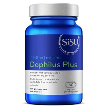 SISU Dophilus Plus 4 Billion, 60 v-caps