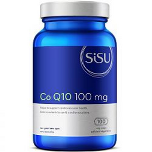 SISU Co Q10 100 mg, 100 Vcaps