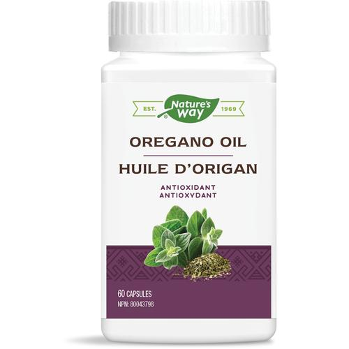 Nature's Way Oregano Oil, 60 Vcaps