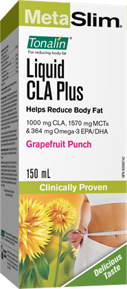 【clearance】 Webber Naturals Liquid CLA Plus, Grapefruit Punch, 150mL  EXP:2021/10