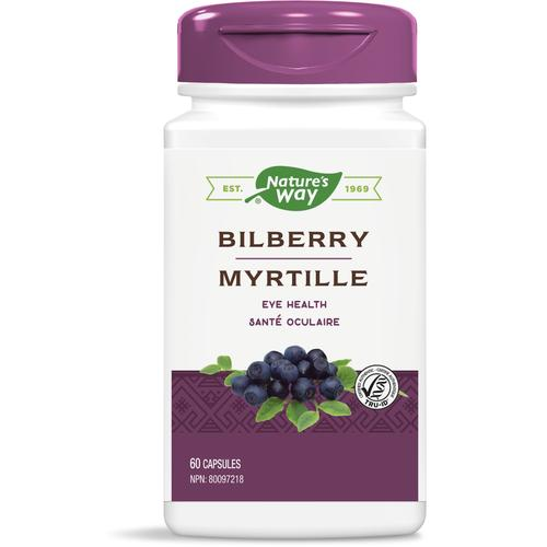 Nature's Way Bilberry, 60 capsules