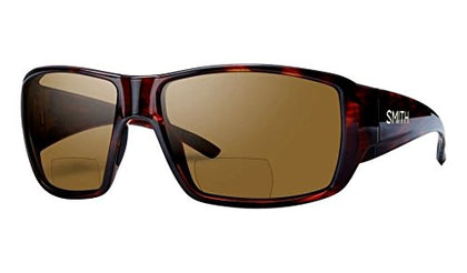 Bifocal Polarized Sunglasses - Men's Matte Havana/Brown 2.00 Polarized, One Size Smith - 5B outfitters
