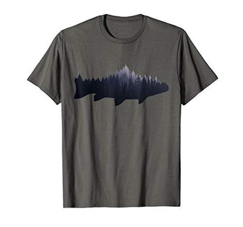 Fly Fishing Nature Outdoor Fisherman  tshirt - 5B outfitters