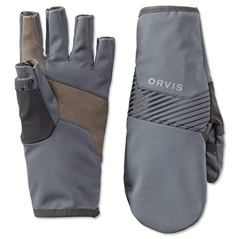 Softshell Convertible Mitts, Orvis - 5B outfitters