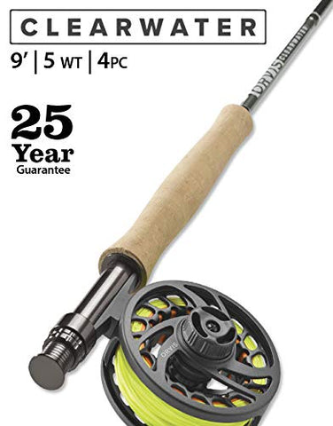 Clearwater 5-Weight 9' Fly Rod Orvis - 5B outfitters