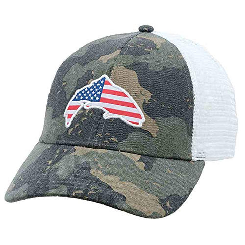 Patch Trucker - Simms Camo - 5B outfitters