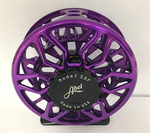 ABEL SDF 5/6 Fly Reel Purple - 5B outfitters