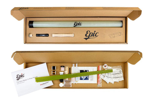 EPIC 4wt - Packlight FastGlass® Fly Rod Building Kit - 5B outfitters
