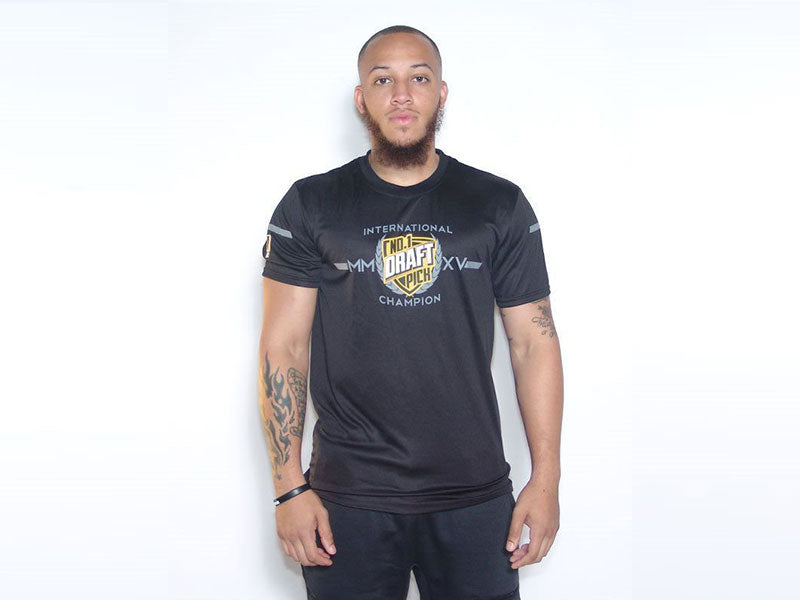 INTERNATIONAL CHAMPS BLACK TEE