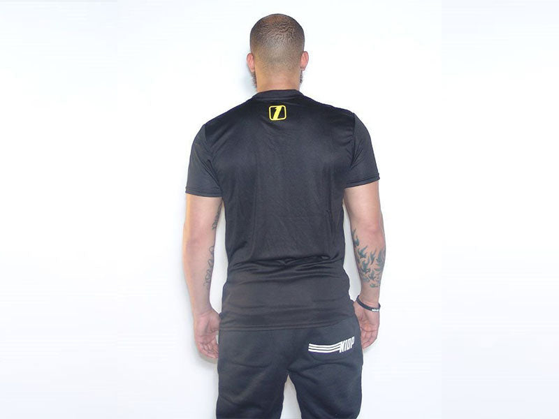 FIT GO FIGHT WIN BLACK TEE