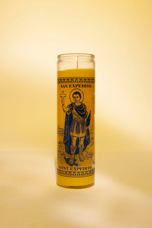 Saint Expidito Candle