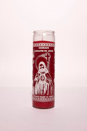 Sacred Heart of Jesus Candle