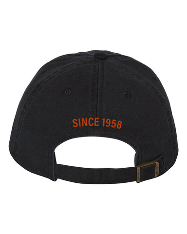 Bold Badge Ball Cap <br> Black