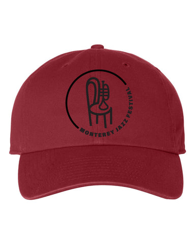Classic Badge Ball Cap <br> Red