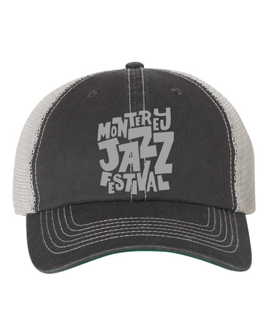 Jammin' Trucker Hat <br> White
