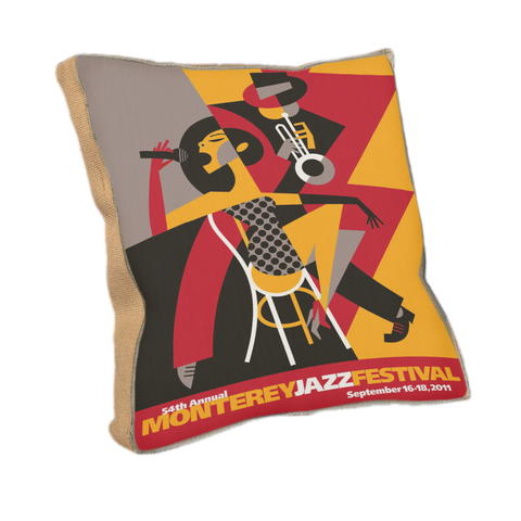 54th Festival Throw Pillow