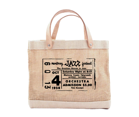 MJF Vintage Ticket Petite Market Bag