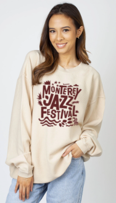 Women's Festival Vibes Crewneck <br> Natural