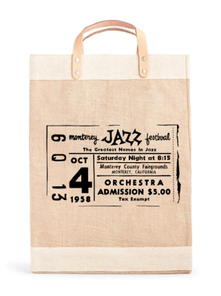 MJF Vintage Ticket Market Bag