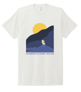 Men's Landscape Short Sleeve Tee <br> White