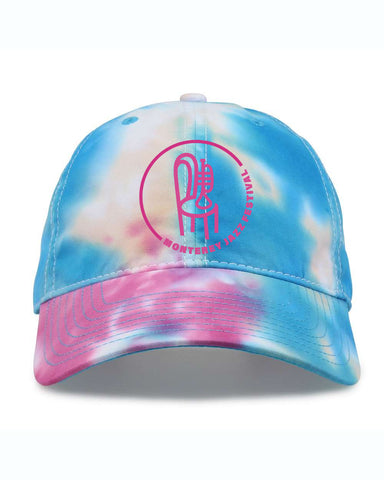 Classic Badge Tie Dye Hat <br> Cotton Candy