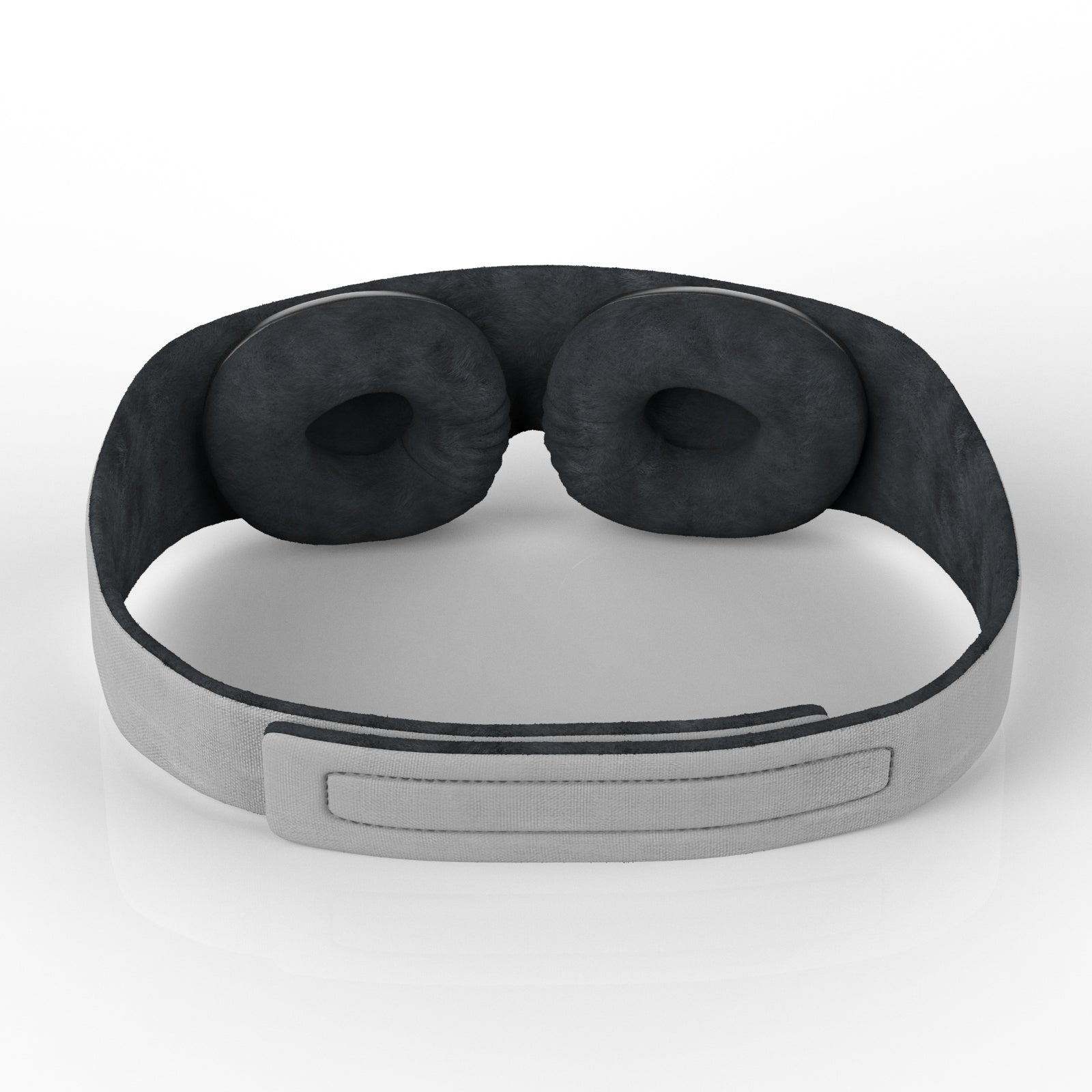 grey sleep mask velcro