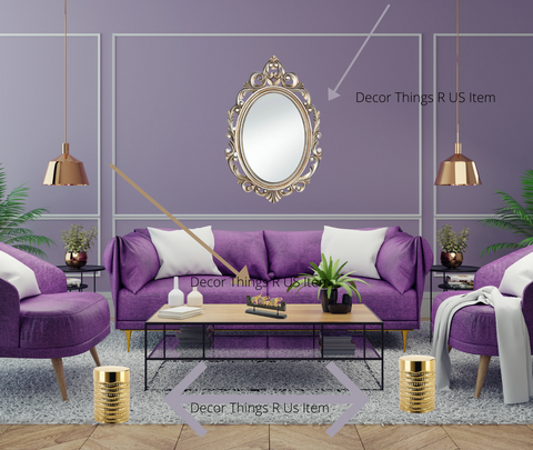 Purple Home Décor | Home Décor & Things Are Us