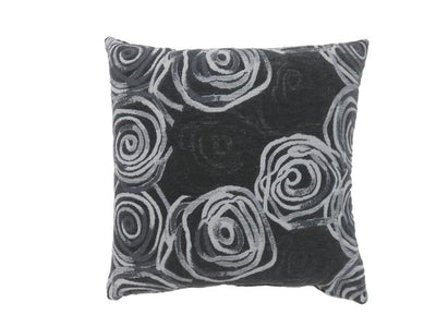 Accent Pillow with Swirly Lines, Set Of 2