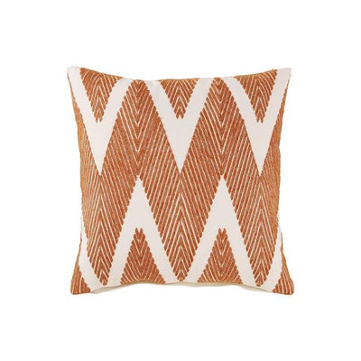 Accent Pillow With Herringbone Print, Set Of 4