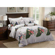 6 Piece Duvet Cover Set, Queen size Floral Bedding  (Queen & King)