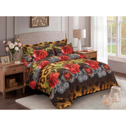 Duvet Cover Set, Queen size Floral Bedding