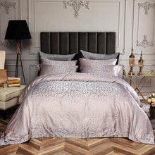 Load image into Gallery viewer, 6 Piece Luxury Duvet Cover Set Jacquard,  QUEEN