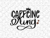 Caffeine King Coffee Shop Bar Wall Graphic Decal Decor Vinyl Sticker For In Home Coffee Station