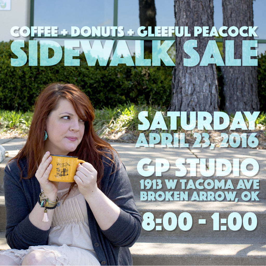 Sidewalk Sale This Saturday