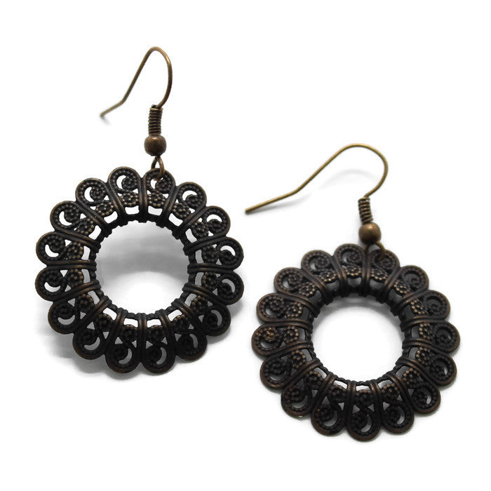 Evolve Filigree Earrings